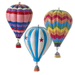 Resin Hotair Balloon Ornaments
