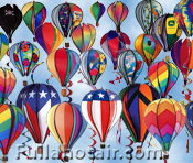 Spinning Hot Air Balloons