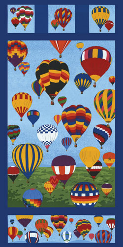 Hot Air Balloon Fabric 1