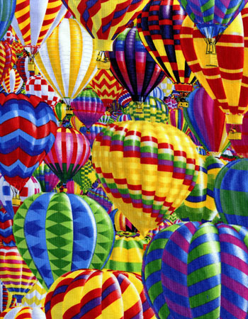 Hot Air Balloon Fabric 6