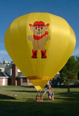 Custom Designed 2500cf Radio Controlled Hot Air Balloon