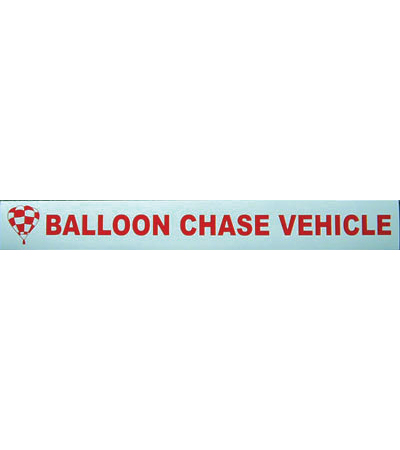 Chase Vehicle Magnetic Sign Heavy Duty
