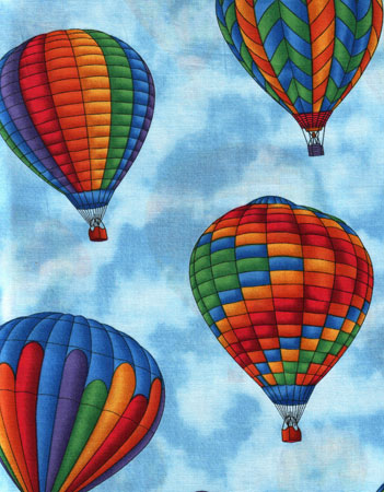 Hot Air Balloon Farbic 7