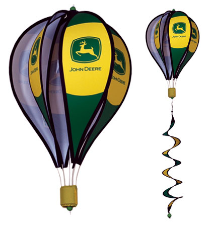 John Deere Spinning Hot Air Balloon With Tail