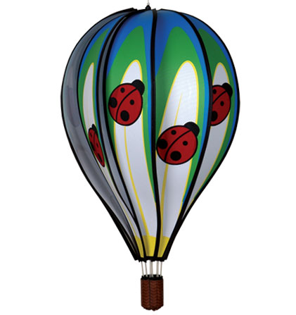 Large Ladybug Spinning Hot Air Balloon with 10 Panels