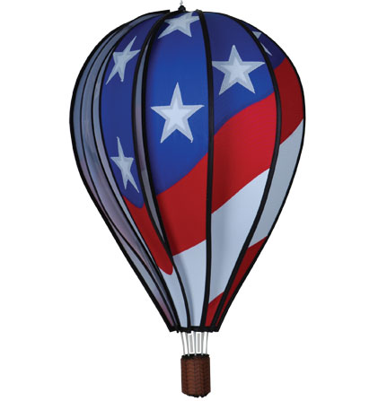 Large Patriotic Design Hot Air Balloon with 10 Panels