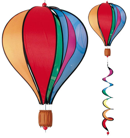 Rainbow Hot Air Balloon Twist