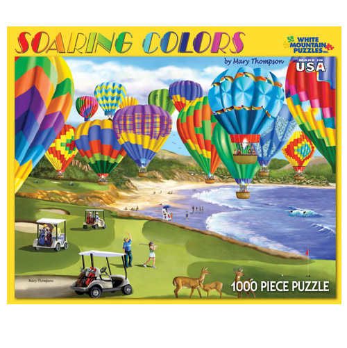 Soaring Colors 1000 Piece Puzzle